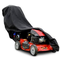 Budge Triple Play Black Lawn Mower Cover