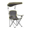 Heavy Duty Max Shade Folding Chair, Grey, Lawn Chairs, Lounge Chairs