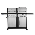 Royal Gourmet ZH3003S Premium 3-Burner 27000-BTU Gas and Charcoal Grill Combo