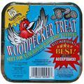 C&S Woodpecker Suet Treat, 11 oz Cake, Wild Bird Suet, 12 Pack