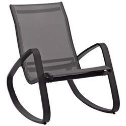 Modern Contemporary Urban Design Outdoor Patio Balcony Garden Furniture Locking Lounge Chair Armchair, Aluminum Metal Steel, Multi Black