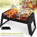 Portable BBQ Charcoal Grill, Barbecue Camping Picnic Grill Stove Outdoor,Barbecue Folding Grill Barbecue Kits for Cooking Camping Hiking Picnic Garden Terrace Travel
