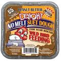 C&S Peanut Butter Delight Suet, 11.75 oz, Wild Bird Feed, 12 Pack