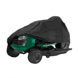 LYUMO Lawn Mower Cover, Lawn Mower Guard Shovel Dust Cover Tractor Sunscreen Cover Black