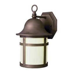 Trans Globe Lighting 4580 Modern 1 Light Down Lighting Outdoor Wall Sconce From The