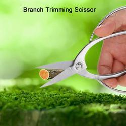 OTVIAP Pruning Scissor, Branch Trimming Scissor,190mm Stainless Steel Garden Bonsai Scissors Shear Root Branch Trimming Pruning Tools