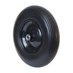 "ALEKO WBNF16 Flat Free Replacement Wheel for Wheelbarrow, 16"" No Flat Tire, Black"