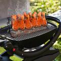 Sorbus 12 Slot Leg & Wing Grill Rack, Steel Multi-Purpose Non-Stick Poultry Stand, For Oven, Smoker or Grill