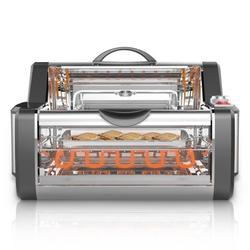 NutriChef PKRTVG38 - Countertop Rotisserie & Grill Oven - Rotating Kitchen Cooker