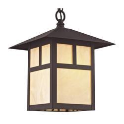 Livex Lighting Montclair Mission 1 Light Outdoor Chain Lantern