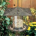 Whitehall Products 30433 6 in. Trumpetvine Bird Tube Feeder - French Bronze