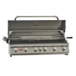 """Bull Outdoor Diablo 6 Burner 46"""" Stainless Steel Natural Gas BBQ Grill Head"""
