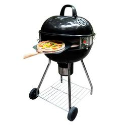 """Pizzacraft PizzaQue Deluxe Kettle Grill Pizza Oven Conversion Kit for 18"""" and 22.5"""" Kettle Grills, turn your BBQ into a Pizza oven! PC7001"""