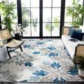 Safavieh Cabana Georgiana Grey/Blue 8'X10' Indoor/Outdoor Area Rug
