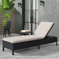 Baner Garden Adjustable Chaise Pool Lounge Chair