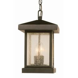 Trans Globe Lighting 45643 Asian Two Light Up Lighting Outdoor Square Pendant From The