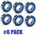 6 Pack John Deere Lawn Mower Spindle Bearing 7677