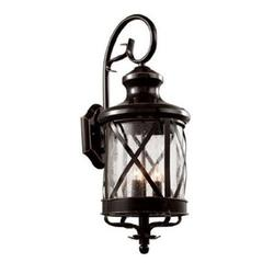 Trans Globe Lighting 5121 Three Light Up Lighting Outdoor Wall Sconce From The Outdoor