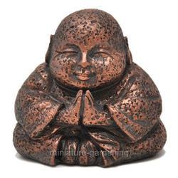Miniature Greetings Buddha for Miniature Garden, Fairy Garden