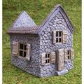 "Miniature Fairy Garden Mill House Planter, Dimensions: 4-3/4"" Wide x 6-1/4"" Deep x 5-3/4"" Tall By Wholesale Fairy Gardens"
