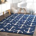 nuLOOM Hand Hooked Despina Indoor/ Outdoor area rug Area Rug