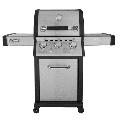 Royal Gourmet MG3000 3-Burner Propane Gas Patio Grill, Stainless Steel,36000 BTU