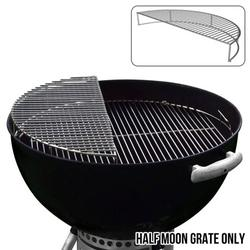 The Original 'Upper Deck' Stainless Steel Grilling Rack/Warming Rack/Smoking Rack/Charcoal Grill Grate- Use with Weber 22 inch Kettle Grill- Charcoal Grilling Accessories and Grill Tools Grill Rack?