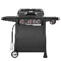 Royal Gourmet SG3001 3-Burner 39,000-BTU Liquid Propane Gas Grill with Lidded Side Burner