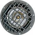 Dabmar Lighting FG4200-GRL-LED18-S 18W & 120V PAR38 LED Spot Fiberglass Well Light with Grill - Bronze