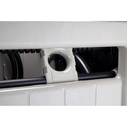 Suncast Swivel Hose Reel Storage Hideaway w/Smart Trak Hose Guide & Bin (2 Pack)