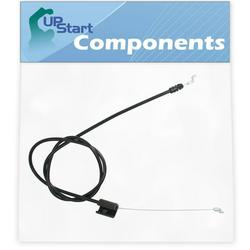 532176556 Engine Cable Replacement for Husqvarna ROTARY LAWN MOWER (96114000714) (2007-07) Lawn Mower: Consumer Walk Behind - Compatible with 176556 162778 Zone Control Cable