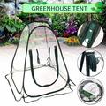 Mini Pop Up Greenhouse with Clear Cover Protected Plant Grow House Portable Flower Tent Shelter for Garden Outdoor Backyard