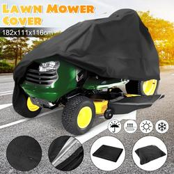 """Riding Lawn Mower Cover - Universal Deluxe Tractor Storage Cover - fits Lawn Mowers with a deck up to 54"""" - Water, Mildew, and UV Resistant Storage Cover"""