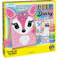 Creativity for Kids Deer Diary - Diary with Lock for Kids - 100 Page Writing Journal with Accessories