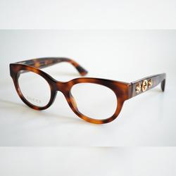 Gucci Accessories   Brand New Gucci Gg0209o 002 Women Eyeglasses   Color: Brown/White   Size: Os