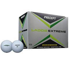Bridgestone Golf 2017 Precept Laddie Extreme Golf Balls, Prior Generation, 24 Pack