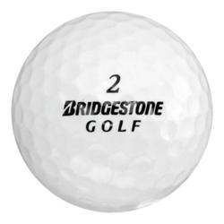 Bridgestone Golf Golf Balls, Assorted Colors, Used, Mint Quality, 12 Pack
