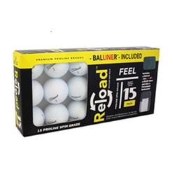 Titleist Golf Balls, Used, Mint Quality, 15 Pack