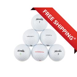 Golf Balls, Used, Mint Quality, 48 Pack