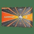 Callaway Superhot Golf Balls, White, 15 Pack