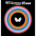 Butterfly Tenergy 05 Hard Table Tennis Rubber Butterfly Table Tennis Rubber 1.9 mm or 2.1 mm Red or Black 1 Inverted Table Tennis Rubber Sheet Professional Table Tennis Rubber