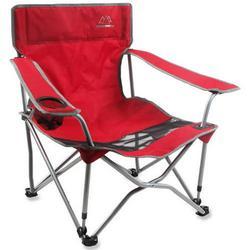 Mountain Summit Gear Low Boy Beach Camp Chair Red