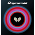 Butterfly Dignics 80 Table Tennis Rubber Butterfly Table Tennis Rubber 1.9 mm or 2.1 mm Red or Black 1 Inverted Table Tennis Rubber Sheet Professional Table Tennis Rubber
