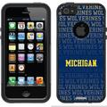Jackson State JSU in Navy Design on OtterBox Commuter Series Case for Apple iPhone 5SE/5s