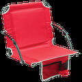 Bleacher Boss Stadium Seat with Arms - Red