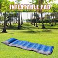 Waterproof Self-Inflating Dampproof Sleeping Pad Tent Mat Outdoor Air Mattress
