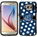 ODU Big Blue Polka Dots Design on OtterBox Commuter Series Case for Samsung Galaxy S6