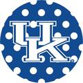 Stoneware Drink Coasters, University of Kentucky Dots
