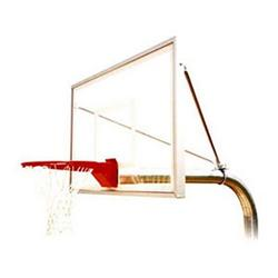First Team RuffNeck Select Fixed Height Inground Basketball System - 60 Inch