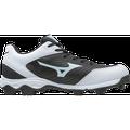 Mizuno 9-Spike Advanced Franchise 9 Low Baseball Cleats Size 9.5 Black/White